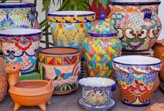 Bacs mexicains vieux San Diego la Californie Images stock