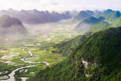 Bacson Valley, Vietnam Royalty Free Stock Photography