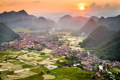 Bacson Valley, Vietnam Royalty Free Stock Photos