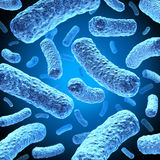 Bactérias ilustração stock
