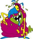 Bactérias cor-de-rosa Imagem de Stock Royalty Free