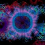 Bactérias sob o microscópio imagens de stock royalty free
