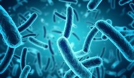 Bactéries bleues illustration libre de droits