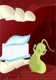 Bactéries de carie dentaire Image libre de droits