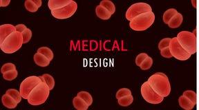 Bactéries de Diplococci, coques gonorrhée, pneumonie et arthrite infection médicale de microbiologie, la maladie de vecteur de mi illustration libre de droits