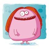 Bactéries drôles/monstre drôle/ordinateur drôle vi Illustration de Vecteur