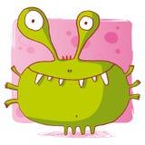Bactéries drôles/monstre drôle/ordinateur drôle vi Illustration Stock