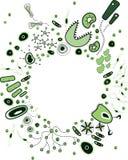 Bactéries mignonnes Photos stock