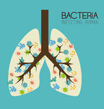 Bacteria design Royalty Free Stock Photo