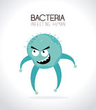Bacteria design Stock Photography