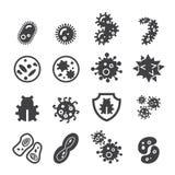 Bacteria icon Royalty Free Stock Photography