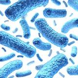Bacteria y bacterias stock de ilustración