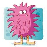 Bacterias divertidas/virus divertido del monstruo/de ordenador Imagen de archivo libre de regalías