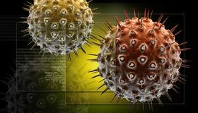 bacterias et drobnoustroje Obraz Stock