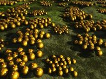 Bacterias mortales Imagen de archivo
