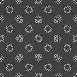 Bacterium seamless pattern Stock Images