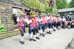 Bacup festival in June 2015 Stock Photos