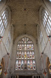 Bad Abbey Vaulting i badet, Somerset, England Royaltyfri Fotografi