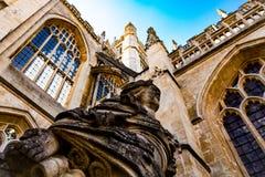 Bad-Abtei, Großbritannien stockbild