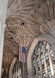 Bad-Abtei im Bad, Somerset, England Stockbild