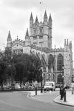 Bad-Abtei im Bad Somerset, England Stockbilder