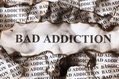 Bad Addiction Stock Photos