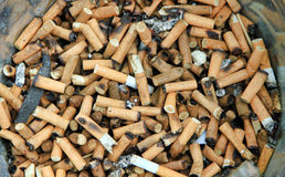 Bad addiction. Royalty Free Stock Photography