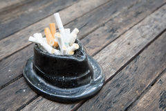 Bad addiction cigarettes . Royalty Free Stock Images