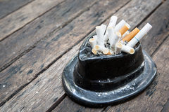 Bad addiction cigarettes . Royalty Free Stock Photos