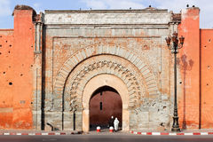 Bad Agnaou door, Marrakesh. Stock Photos