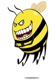 Bad bee Royalty Free Stock Photos