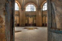 Bad in Beelitz Heilstaetten stock fotografie