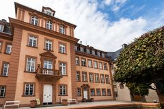 Bad berleburg in autumn germany royalty free stock photography