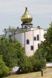 Bad Blumau _onion dome Stock Photo