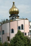 Bad Blumau _onion dome Stock Photo