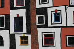 Bad Blumau _funky windows Royalty Free Stock Images