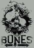 Bad bones crew Stock Image