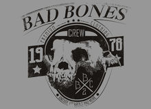 Bad bones Stock Image