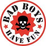 Bad boys skull Stock Image