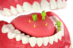 Free Bad Breath Concept Royalty Free Stock Images - 3382429