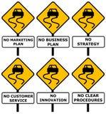 Bad business stock illustration