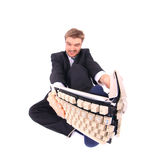 Bad businessman Stock Photo