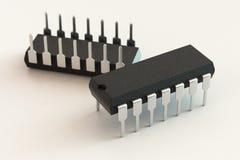 BAD-Chippaket Lizenzfreies Stockbild