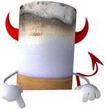 Bad cigarette. 3d generated picture Royalty Free Stock Photography