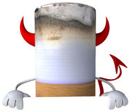 Bad cigarette. 3d generated picture Royalty Free Stock Photos