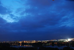 bad city weather Στοκ φωτογραφία με δικαίωμα ελεύθερης χρήσης