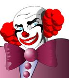 Bad clown. Royalty Free Stock Photo