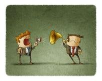 Bad communication business Royalty Free Stock Photo