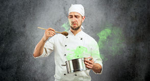 Bad Cook Royalty Free Stock Photo