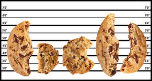 Bad Cookies stock photos